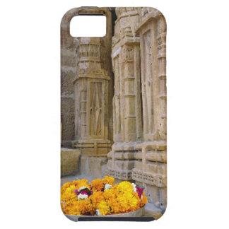 Flores y columnas, fuerte de Jaisalmer, Jaisalmer, iPhone 5 Carcasa