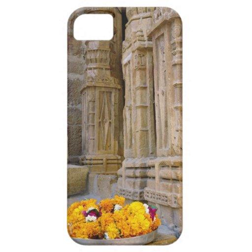 Flores y columnas, fuerte de Jaisalmer, Jaisalmer, iPhone 5 Case-Mate Cárcasas