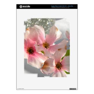 Flores y cristal iPad 3 skins
