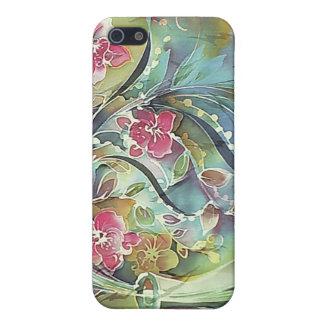 Flores y florero caido 12 iPhone 5 carcasas