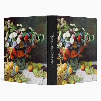 """Flores y fruta, Claude Monet 1869 Carpeta 1"""""""