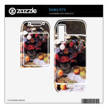 Flores y frutas de Claude Monet Calcomanías Para El Nokia E75