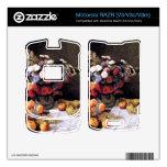 Flores y frutas de Claude Monet Motorola RAZR Skins