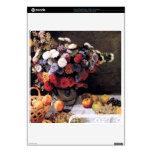 Flores y frutas de Claude Monet Skin Para El PS3 Slim