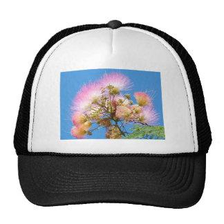 flores y fuegos artificiales gorras