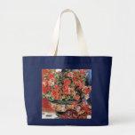 Flores y gatos - arte impresionista - Renoir Bolsas