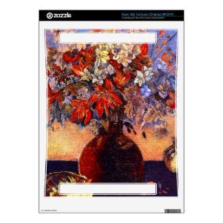 Flores y gatos de Eugène Enrique Paul Gauguin Consola Xbox 360 Calcomanías