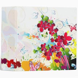 flores y mariposa hermosas art-01