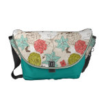 flores y mariposas bolsas de mensajeria
