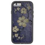 Flores y mariposas funda de iPhone 6 tough xtreme