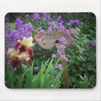 Flores y moho tapetes de raton