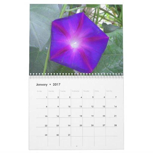 Flores y naturaleza calendarios de pared