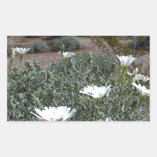 Flores y Sagebrush salvajes del desierto Rectangular Altavoces