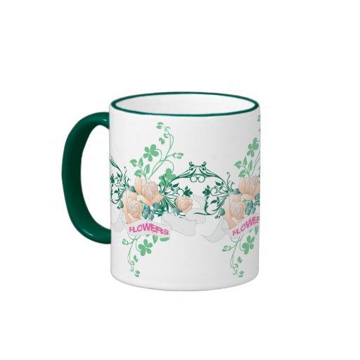 Flores y subió taza