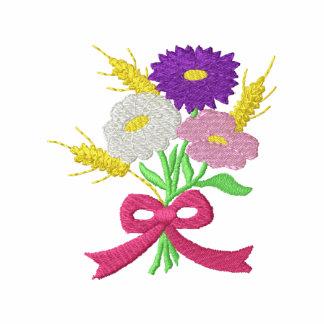 Flores y trigo