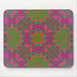 Florescent Abstract Mousepads
