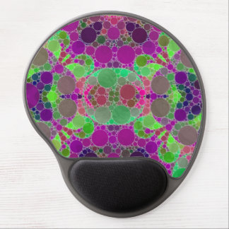 Florescent Beautiful Abstract Gel Mouse Pads