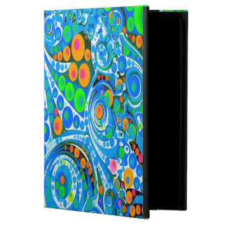 Florescent Blue Green Abstract Powis iPad Air 2 Case