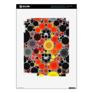 Florescent Bold Abstract Pattern iPad 3 Decals