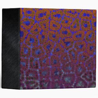 Florescent Cheetah Abstract Binders