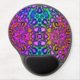 Florescent Cheetah Print Gel Mouse Mat