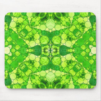Florescent Fractal Mousepads