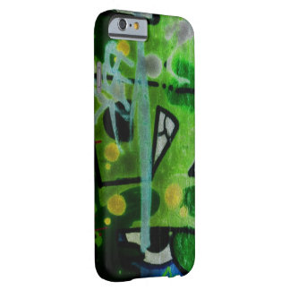 Florescent Graffiti Funk Barely There iPhone 6 Case