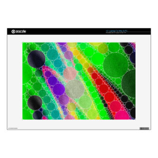 "Florescent Green Yellow Abstract 15"" Laptop Skins"