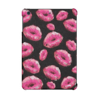 Florescent Pink Abstract Lips iPad Mini Case