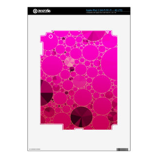 Florescent Pink Abstract Patterns iPad 3 Skins
