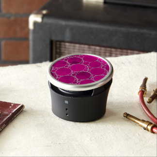 Florescent Pink Bling Bluetooth Speaker