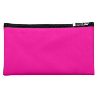 Florescent Pink Cosmetics Bags