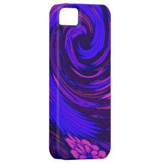 Florescent Pink Floral Surge Design iPhone 5 iPhone SE/5/5s Case