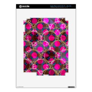 Florescent Pink POP Bling iPad 3 Decal