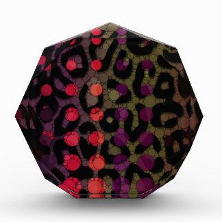 Florescent Polka-dot Cheetah Award