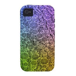 Florescent Rainbow Cheetah iPhone 4 Covers