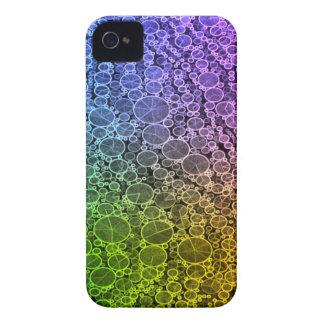 Florescent Rainbow Cheetah iPhone 4 Case-Mate Cases