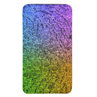 Florescent Rainbow Cheetah Galaxy S5 Pouch