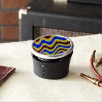 Florescent Retro Abstract Pattern Speaker