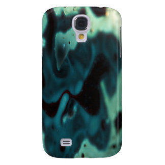 Florescent swirling green pool galaxy s4 case