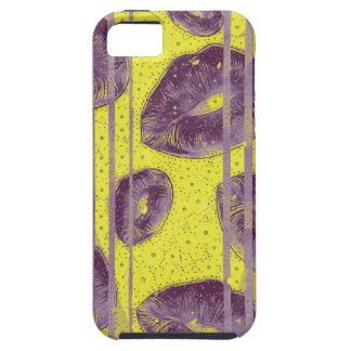 Florescent Yellow Lavender Lips iPhone SE/5/5s Case