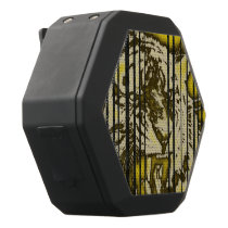 Florescent Yellow Tiger Black Bluetooth Speaker