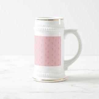 florete rosado jarra de cerveza