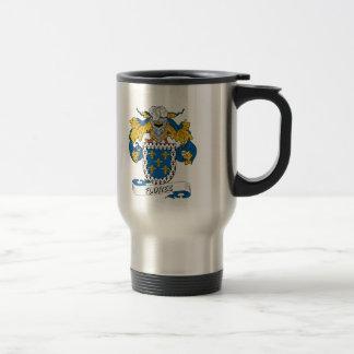 Florez Family Crest 15 Oz Stainless Steel Travel Mug