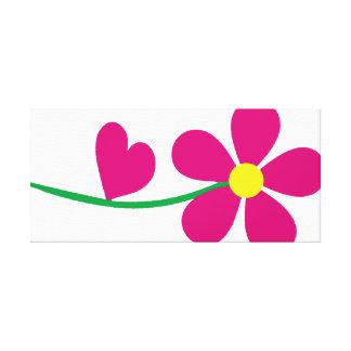 florezca el amor, friki, frikis, empollón, príncip impresión en lienzo
