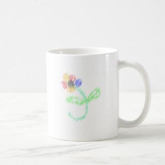 florezca los artes abstractos tazas de café