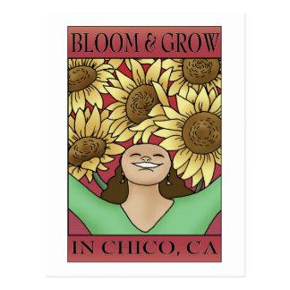 Florezca y crezca en Chico, CA Postales