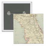 Floriada, Estados Unidos Pin Cuadrada 5 Cm