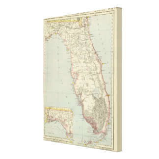 Floriada, United States Gallery Wrapped Canvas