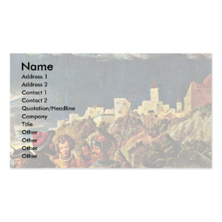 Florian Scenes Follow A Legend Of St. Florian Business Card
